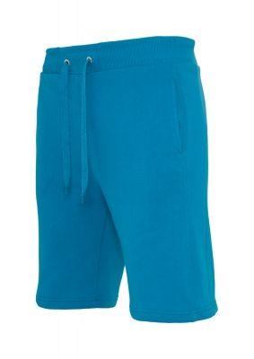 Pantaloni sport scurti Light Fleece turcoaz Urban Classics