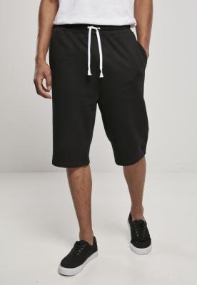 Pantaloni sport scurti Low Crotch negru Urban Classics