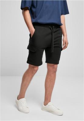 Pantaloni sport scurti Organic Cargo negru Urban Classics