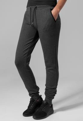 Pantaloni sport stramti Athletic pentru Femei gri carbune Urban Classics