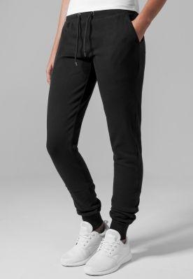 Pantaloni sport stramti Athletic pentru Femei negru Urban Classics