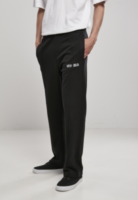 Pantaloni sport Track negru Urban Classics