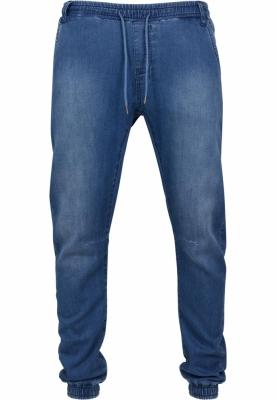 Pantaloni sport tricot Denim albastru-washed Urban Classics