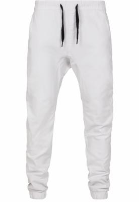 Pantaloni Stretch Jogger alb Southpole