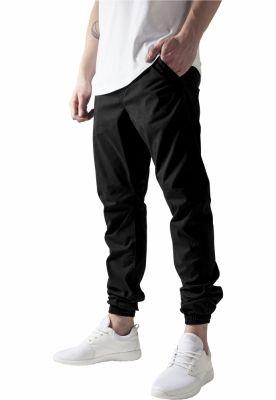 Pantaloni trening bumbac barbati negru Urban Classics