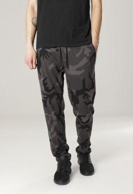 Pantaloni trening Camo inchis-camuflaj Urban Classics