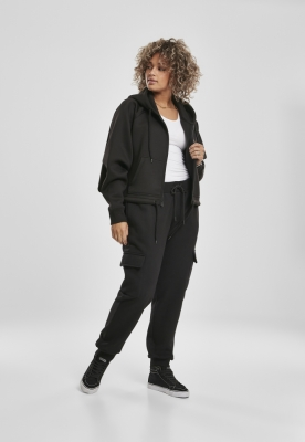 Pantaloni trening Cargo pentru Femei negru Urban Classics
