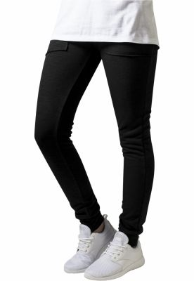 Pantaloni trening conici Fitted pentru Femei negru Urban Classics