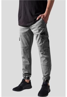 Pantaloni urban cargo cu buzunare gri Urban Classics