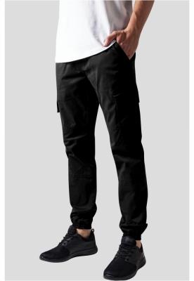 Pantaloni urban cargo cu buzunare negru Urban Classics