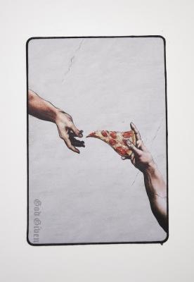 Sireturi Pizza Art Desk Mister Tee