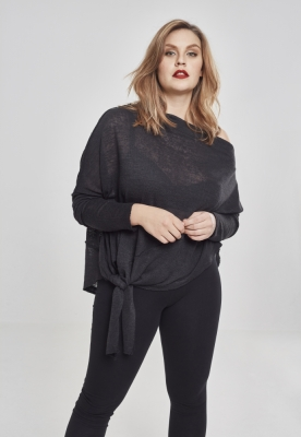 Pulover asimetric pentru Femei negru