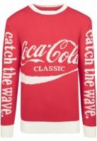 Pulover Coca Cola Craciun Xmas pentru Femei rosu Merchcode
