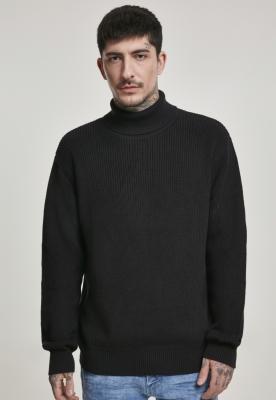 Pulover helanca negru Urban Classics