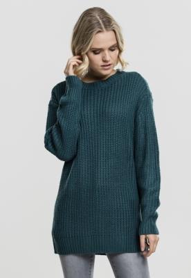Pulover model clasic pentru Femei bleu Urban Classics