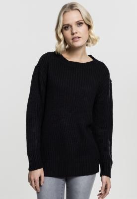 Pulover model clasic pentru Femei negru Urban Classics