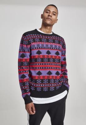 Snowflake Christmas Tree Sweater Urban Classics
