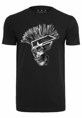 Punks Not Dead Tee negru Merchcode