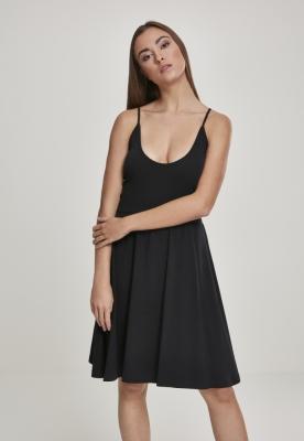 Rochie cu bretele subtiri pentru Femei negru Urban Classics
