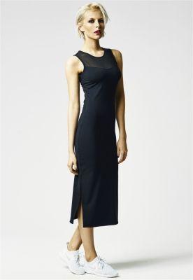 Rochie lunga cu crapatura laterala
