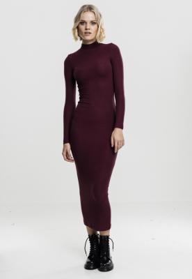 Rochie lunga tip helanca pentru Femei cherry Urban Classics