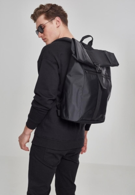 Rucsac Folded Messenger negru Urban Classics