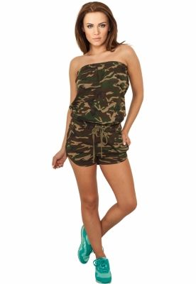 Salopeta model camuflaj dama
