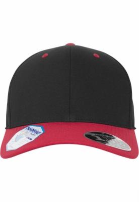 Sapca Flexfit 110 Pro-Formance doua culori negru-rosu