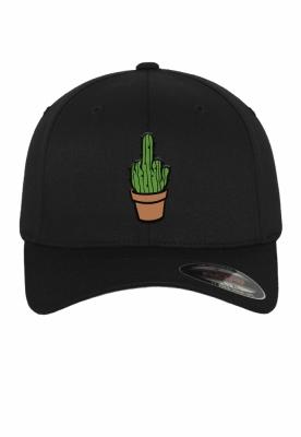 Sapca Flexfit Cactus negru Mister Tee