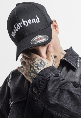 Sapca Flexfit Motorhead negru-negru Merchcode
