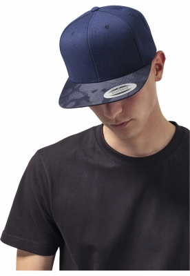 Sapca Visor Snapback Camo bleumarin-camuflaj Flexfit