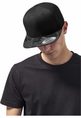 Sapca Visor Snapback Camo negru-camuflaj Flexfit