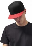 Sapca Visor Snapback Metallic rosu Flexfit