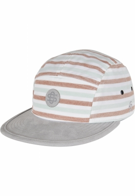 Sepci C&S CL Inside Printed Stripes 5 Panel alb-gri Cayler and Sons