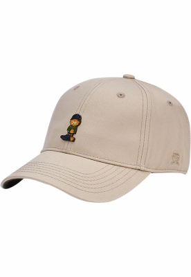 Sepci C&S WL Merch Garfield Curved nisip-mc Cayler and Sons