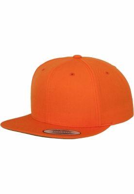 Sepci rap Flexfit Snapback portocaliu