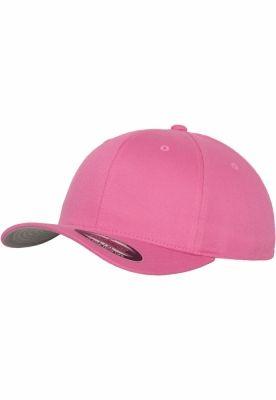 Sepci originale Flexfit Wooly Combed roz aprins