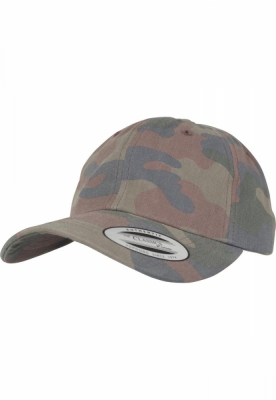 Sepci Low Profile bumbac Camo wood-camuflaj Flexfit