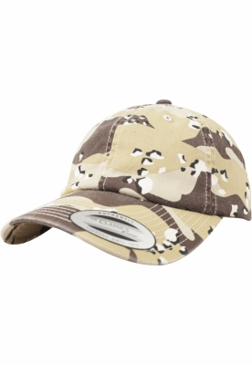 Sepci Low Profile Camo Washed retro-desert Flexfit