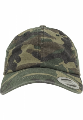 Sepci Low Profile Camo Washed wood-camuflaj Flexfit