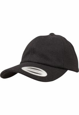 Sepci Low Profile Melton Wool Dad negru Flexfit