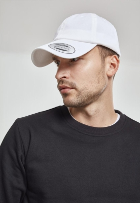 Sepci Low Profile Organic bumbac alb Flexfit