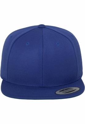 Sepci rap Classic Snapback albastru roial Flexfit
