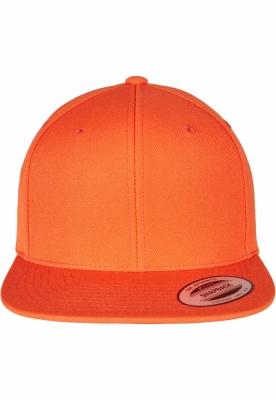 Sepci rap Classic Snapback portocaliu Flexfit