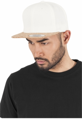 Sepci rap Cork Snapback natural Flexfit