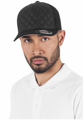 Sepci rap Diamond Quilted Flexfit negru