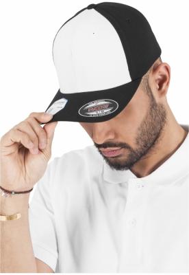 Sepci rap Flexfit Performance negru-alb