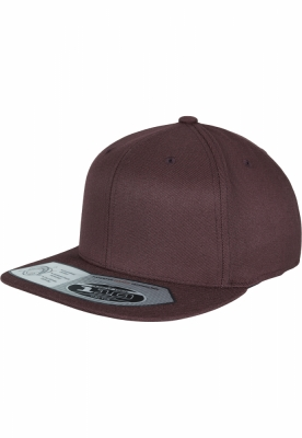 Sepci rap Snapback 110 Fitted maro inchis Flexfit