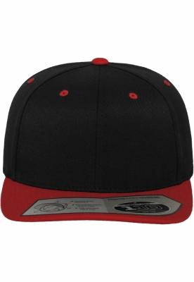 Sepci rap Snapback 110 Fitted negru-rosu Flexfit