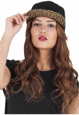 Sepci rap Snapback Animal negru-leopard Flexfit